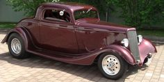 34 Ford 3 Window Coupe   Hot Rod 34 Ford 3 Window Coupe   STREET RODS