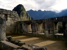 Why is #Peru the perfect place to learn #Spanish?  Visit The Temple of the Three Windows at Machu Picchu
