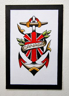 Canadiana Tattoo Flash