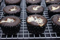 Mom's Black Bottom Cupcakes