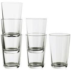 IKEA 365+ glas 45 cl glært gler 6stk