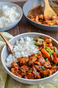 Heavenly Tender Hoisin Chicken - a quick simple dish that is ready in less than 20 minutes and can be cooked in an Actifry or on the Stove Top. Gluten Free Dairy Free Slimming WOrld and Weight Watchers friendly Curry Recipes, Meat Recipes, Asian Recipes, Chicken Recipes, Cooking Recipes, Healthy Recipes, Chinese Recipes, Recipies, Main Meal Recipes