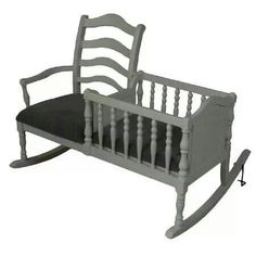 Rocking  Chair/ Crib   where was this when I needed it? !