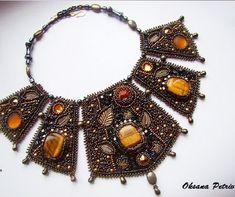 Beautiful jewelry by Oksana Petriv   Beads Magic