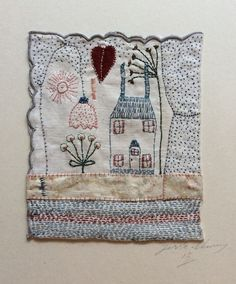 Image of Home sweet Home with lamp and sacred heart, by Jessie Chorley