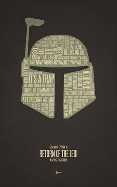 Star Wars Episode VI Art Print