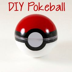 Make your own DIY Pokeball that actually opens! Quick & easy! Use it for birthday invitations, gift boxes, and Christmas ornaments. You won't believe how ...