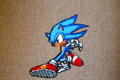 Classic sonic - Made by Phillip Mark - Superswag.dk