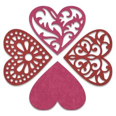Cheery Lynn Designs - Hearts Die - CABD30