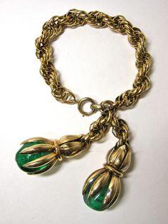Vintage Napier Charm Bracelet