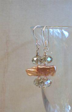 Earrings  Sweet Disposition by DebLuvs on Etsy, $16.00