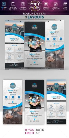 Creative Rollup Stand Banner Display — Photoshop PSD #modern #transparency • Available here → https://graphicriver.net/item/creative-rollup-stand-banner-display/19820289?ref=pxcr