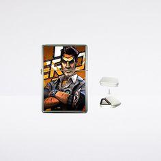 Borderlands 2 inspired handsome jack zip flip-top lighter - $14.99