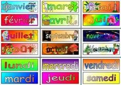 MFL German Resources - Months of the Year and Days of the Week posters French Teacher, Teaching French, Teaching Spanish, Teaching Resources, Teaching Ideas, French Classroom Decor, Spanish Classroom, Bilingual Classroom, German Resources