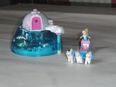POLLY POCKET 2000 ARCTIC PETS IGLOO PLAY SET