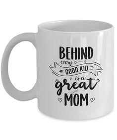 good kid, great mom, mothersday coffee mug Cool Kids, Coffee Mugs, Mom, Tableware, Prints, Stuff To Buy, Dinnerware, Coffee Cups, Tablewares