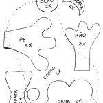 Centenas de moldes em EVA ou feltro | Revista Artesanato