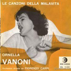 Ornella Vanoni on Ricordi Records (Italy) (1958)