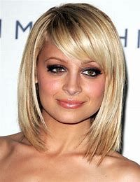 Image result for medium length bob with bangs