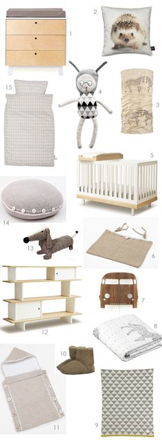 items for a natural style nursery / kids room | the style files