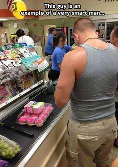 Man Shopping Meme #Example, #Smart