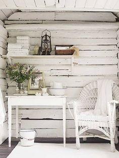 Dream cottage. Rustic White