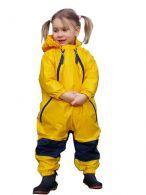 Muddy Buddy, gul regndragt