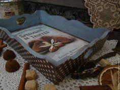 """Кухня ручной работы. Ярмарка Мастеров - ручная работа Поднос """"Truffes"""". Handmade."""