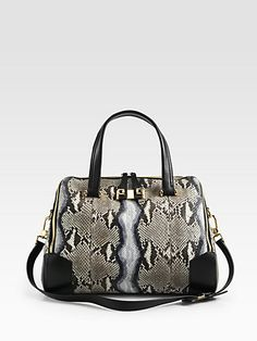 Furla Exclusively for Saks Fifth Avenue - Mediterranea Large Python Shopper - Saks.com