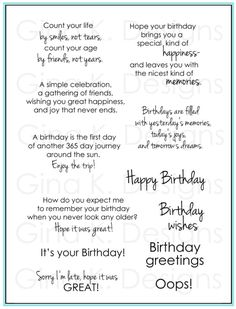 birthday sayings 2jpg 505662 birthday verses for cards