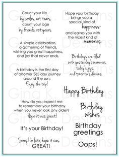 birthday sayings 2