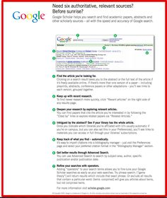7 Tips to Effectively Use Google Scholar ~ Educational Technology and Mobile Learning