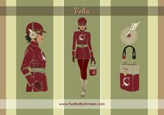Volta (with battery shaped electro-stimulation handbag) - Daniel Orlick  fashion art #fuelledbyfemale