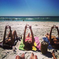 Kappa Deltas enjoying spring break