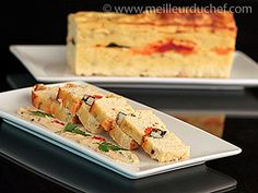 Terrine de homard  #terrine  #homard No Cook Appetizers, Ground Meat, Mediterranean Recipes, Cakes And More, Charcuterie, Wine Recipes, Carne, Entrees, Sushi