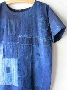 2013年09月 : 古布や麻の葉 Redone Jeans, Baggy Clothes, Patchwork Jeans, Layered Fashion, Japanese Textiles, Denim Trends, Recycled Denim, Wardrobe Basics, Darning