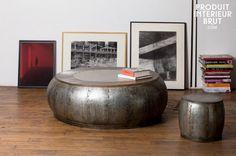 Couchtisch aus Metall Tubisteel, ein echter Garant für Ihre Wohnzimmer.