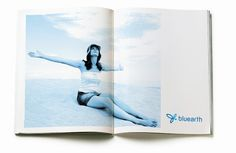 bluearth by two., via Behance