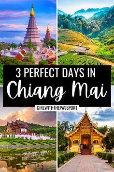 Vietnam Travel Guide, Thailand Travel Guide, Japan Travel Tips, Asia Travel, Thailand Destinations, Thailand Honeymoon, Honeymoon Places, Thailand Adventure, Chiang Mai Thailand
