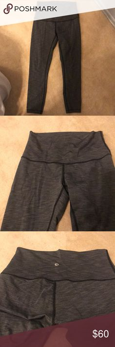 Lulu lemon leggings Only worn 2x. Great condition. lululemon athletica Pants Leggings