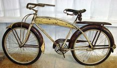 1937 Mercury Men's Bicycle & Count Alexis de Sakhnoffsky – The Online Bicycle Museum Cool Bicycles, Vintage Bicycles, Start Of Ww2, Mercury, Preston Tucker, Cruiser Bikes, Automotive Engineering, Blue Pictures, Futuristic Cars