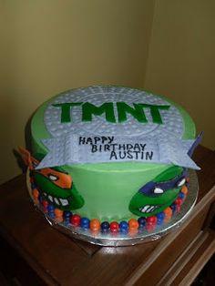 Cake Whimsy: TMNT Cake