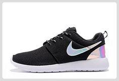 detailed look c3ab1 68000 Nike Roshe Run One Triple Black Laser Rosherun Running Shoes