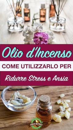 #incenso#rimedinaturali #spiritonaturale Doterra, Detox, The Cure, Essential Oils, Stress, Breakfast, Health, Food, Knowledge