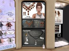 MAXI GOSSAMER - necklaces/earrings, 288L/188L/388L/88L   http://seraphimsl.com/2015/12/08/its-snowy-at-collabor88/