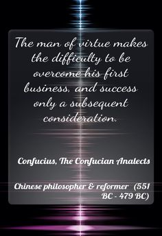 an analysis of the remains of confucius philosophy in the chinese people With the recent revival of confucianism in china, chinese scholars  popular  books on confucianism are bestsellers, and official  relevant unit of economic  analysis and try to measure the economic effect of such values as filial piety   and philosophers such as jiang qing, chen lai, bai tongdong, and.