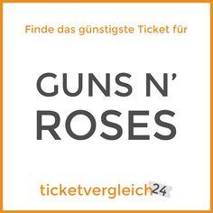 Guns N' Roses kommen nach Deutschland!  Fans haben lange darauf gewartet - und nun kommen sie auch nach Deutschland.  Sichere Dir schnell Dein Ticket für die Auftritte in  München - 13. Juni 2017 Hannover - 22. Juni 2017  Die Tickets sind begehrt, also warte nicht zu lange ;)  www.ticketvergleich24.de/artist/guns-n-roses/     #ticketvergleich24 #gunsnroses #tickets #konzert #deutschland #münchen #muenchen #munich #hannover