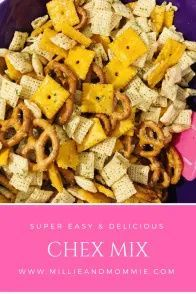 Super Easy and delicious Chex Mix