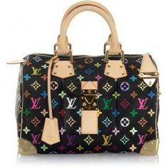 Louis Vuitton Limited Edition Speedy 30 Handbag