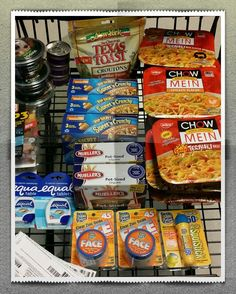 Harris Teeter Super Doubles trip #9 4/1/14  I think this is my last run...got all my freebies in one order...only paid tax!!!!!!!  Total Before Coupons/Discounts $64.11 Total After Coupons/Discounts $-.03 + $..70 Tax =$0.67 29 items, savings of $63.41 or 98.9%